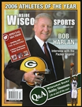 2007 Bob Harlan Green Bay Packers Inside Wisconsin Sports Magazine