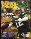 2009 Aaron Rodgers Green Bay Packers Packer Report
