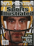 2009 Aaron Rodgers Green Bay Packers Sports Illustrated