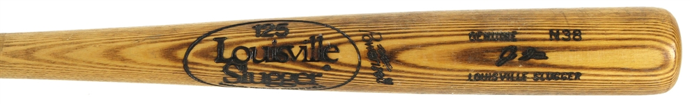 1980 Joe Strain San Francisco Giants Louisville Slugger Professional Model Game Used Bat (MEARS LOA)
