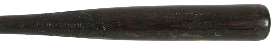 1977 Derrel Thomas San Francisco Giants H&B Louisville Slugger Professional Model Game Used Bat (MEARS LOA)
