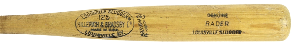 1973-75 Dave Rader/Ed Goodson San Francisco Giants H&B Louisville Slugger Professional Model Game Used Bat (MEARS LOA)