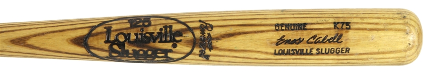 1981 Enos Cabell San Francisco Giants Louisville Slugger Professional Model Game Used Bat (MEARS LOA)