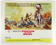 "1967 Robert Shaw ""Custer of the West"" 22""x 28"" Film Poster"