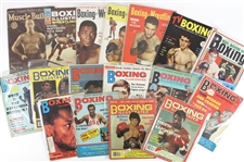 1920s-1990s Boxing Magazines Including Sports Illustrated, The Ring, Boxing & Wrestling and more (Lot of 75+)