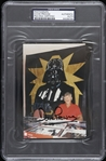 "1977-1983 David Prowse Darth Vader Signed 5""x 7"" Photo (PSA/DNA Slabbed)"
