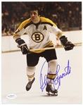 "1967-1974 Phil Esposito Boston Bruins Signed 8""x 10"" Photo *JSA*"
