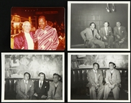 "1950s-1970s Sugar Ray Robinson / Carmen Basilio / Archie Moore 4""x 5"" Photos (Lot of 4)"