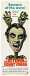 "1971 The Return of Count Yorga 14""x 36"" Movie Poster"