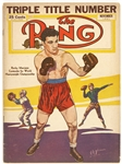 1951 The Ring Magazine Featuring Rocky Marciano