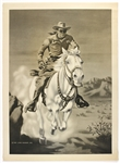 "1949-1957 The Lone Ranger 23""x 31"" Poster"