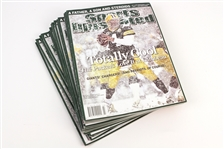 2008 (January 21) Brett Favre Green Bay Packers Sports Illustrated Magazines - Lot of 16