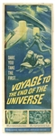 "1964 Voyage to the End of the Universe 14""x 36"" Film Poster"