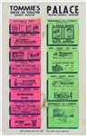 "1968 Tommies Drive-in & Palace Theatre 14""x 22"" Coming Attractions Poster"