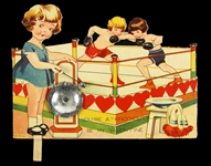 "1950s Youre a ""Knockout"" Be My Valentine 5""x 7"" Card"