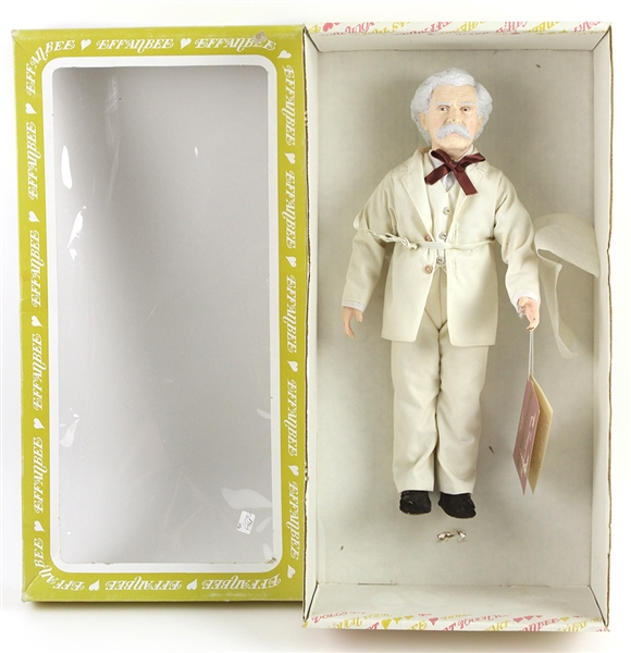 "1983 Mark Twain ""Great Moments in Literature"" Effanbees 15"" Doll"