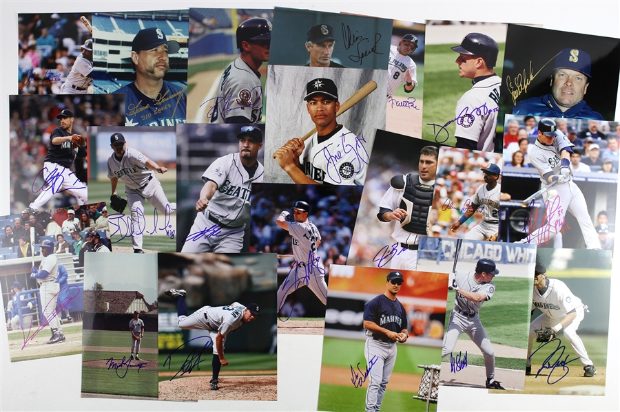 "1980s-1990s Seattle Mariners Signed 8""x 10"" Photos Including Goose Gossage, Alvin Davis, and more (Lot of 32)(JSA)"
