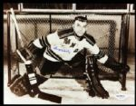 1954-63 Gump Worsley New York Rangers Signed Autographed 8 x 10 Photo (*JSA*)