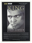 "1999 Muhammad Ali King of the World by David Remnick Book Review 24""x 34"" Poster"
