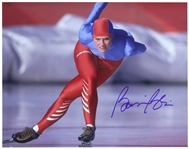 "1984-1994 Bonnie Blair Olympic Speed Skater Signed 11""x 14"" Photo (JSA)"