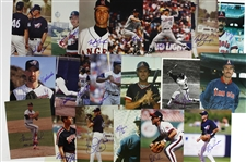 "1970s-2000s California Angels Signed 8""x 10"" Photos Including Reggie Jackson, Tim Foli, and more (Lot of 62)(JSA)"