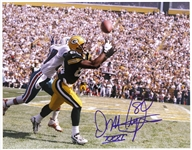 "1996-1998 Derrick Mayes Green Bay Packers Signed 11""x 14"" Photo (JSA)"
