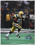 "1999 Desmond Howard Green Bay Packers Signed 11""x 14"" Photo (JSA)"