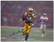 "1996 Andre Rison Green Bay Packers Signed 11""x 14"" Photo (JSA)"
