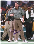 "1992-1998 Mike Holmgren Green Bay Packers Signed 11""x 14"" Photo (JSA)"