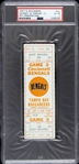 1976 Cincinnati Bengals vs. Tampa Bay Buccaneers Game 3 Full Ticket (PSA/DNA Slabbed)
