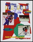 1998 Chris Witty Olympic Gold Medalist Signed Pettit National Ice Center World Class Programs (JSA)