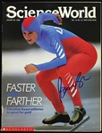 1988 Bonnie Blair Olympic Speed Skater Signed Science World (JSA)