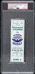 1975 Shreveport Steamer vs San Antonio Wings WFL Full Ticket (PSA/DNA Slabbed)