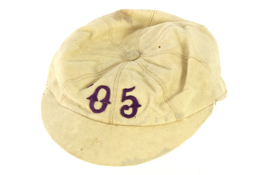 1905 Game Worn Baseball Cap (MEARS LOA)