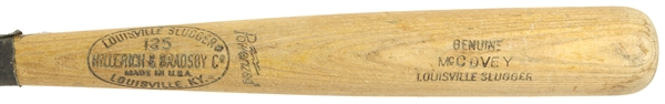 1969-71 Willie McCovey San Francisco Giants H&B Louisville Slugger Professional Model Game Used Bat (MEARS A6)