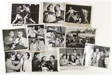 1950s Rocky Marciano Heavy Weight Champion Original Boxing Photo Lot (Lot of 10)