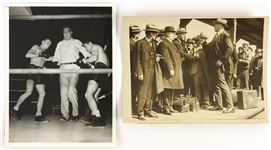 1920s Jess Willard Heavy Weight Champion 8x10 B&W Photo (2)