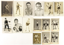 "1900-1940s Boxing Cabinet & Promotional Photos 6""x8"" (15)"
