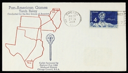 1959 Pan American Games Torch Relay FDC