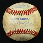 2000s Cal Ripken League Game Used Baseball (MEARS LOA)