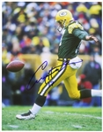 "1993-1997 Craig Hentrich Green Bay Packers Signed 11""x 14"" Photo (JSA)"