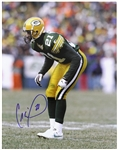 "1995-1998 Craig Newsome Green Bay Packers Signed 11""x 14"" Photo (JSA)"