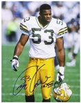 "1992-1999 George Koonce Green Bay Packers Signed 11""x 14"" Photo (JSA)"