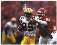 "1994-1997 Terry Mickens Green Bay Packers Signed 11""x 14"" Photo (JSA)"
