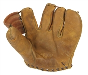 1950s Gus Zernial Philadelphia/Kansas City Athletics Player Endorsed Medalist Store Model Fielders Mitt