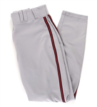 2010 Barry Larkin Washington Nationals Road Uniform Pants (MEARS LOA)