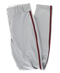 2006 Barry Larkin Washington Nationals Road Uniform Pants (MEARS LOA)