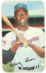 1970 Hank Aaron Atlanta Braves Topps Super Trading Card