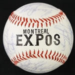 1983 Montreal Expos Team Signed Baseball w/ 30 Signatures Including Gary Carter, Andre Dawson & More (JSA)