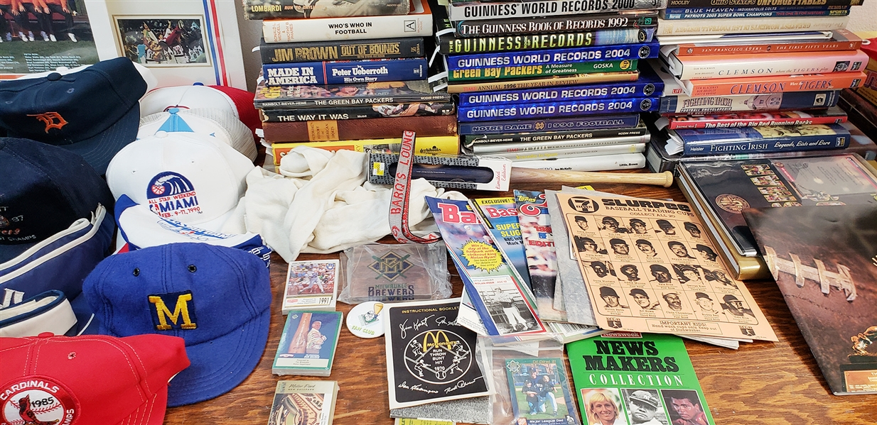 1970s- 1990s Baseball, Football & Basketball Lot of 500+